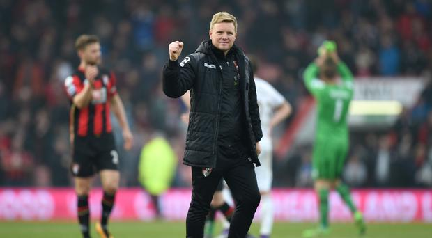 Eddie Howe insists he is not celebrating just yet