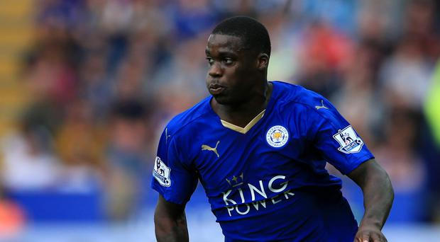 Leicester's Jeff Schlupp has helped the Foxes stay top of the Barclays Premier League after returning from injury