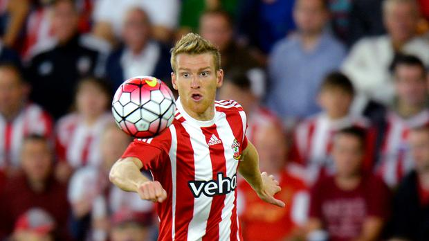 Steven Davis wants to be playing in Europe with Southampton again