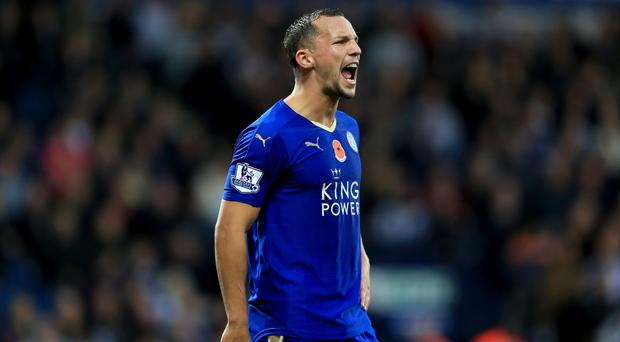 Leicester midfielder Daniel Drinkwater has been named in the England squad for the first time
