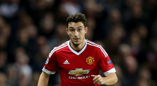 Matteo Darmian has laughed off reports he is set to leave Manchester United.