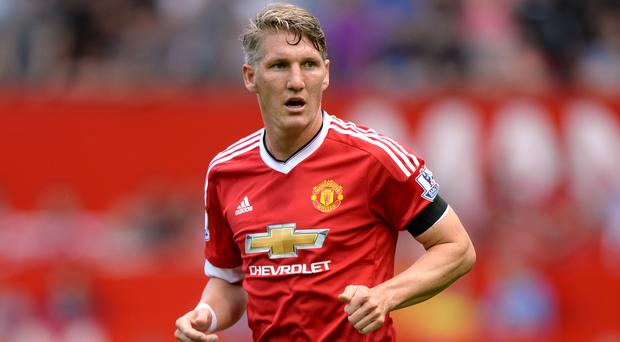 Manchester United's Bastian Schweinsteiger was recently out of action for around two months because of a knee injury