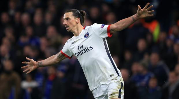 Zlatan Ibrahimovic had been linked with Manchester United