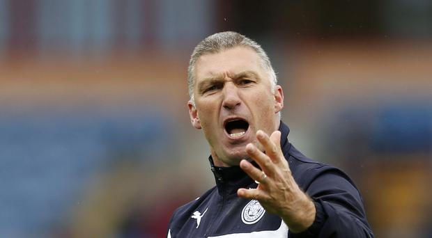 Nigel Pearson won the Sky Bet Championship with Leicester in 2014 before keeping them in the Barclays Premier League a year later