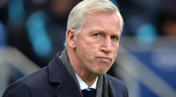 Alan Pardew insists Crystal Palace are not safe yet