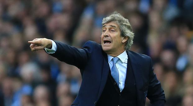Manchester City boss Manuel Pellegrini is contending with numerous injuries