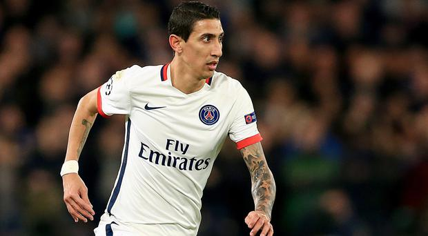 Angel Di Maria does not regret leaving Manchester United for Paris St Germain.