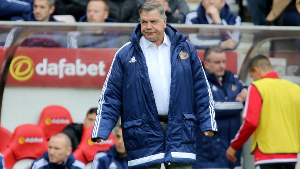 Sam Allardyce endured a frustrating afternoon on the Sunderland bench against West Brom