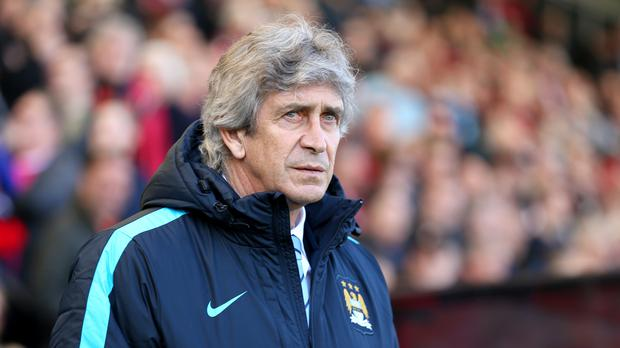 Manuel Pellegrini has urged Manchester City to finish the season the way they started it