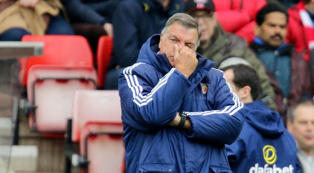 Sunderland manager Sam Allardyce was left frustrated by West Brom keeper Ben Foster