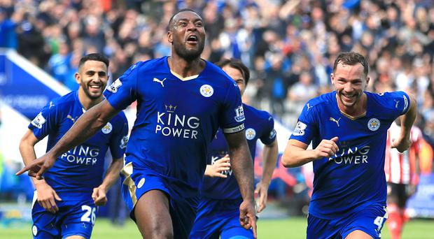 Wes Morgan scored the game's only goal