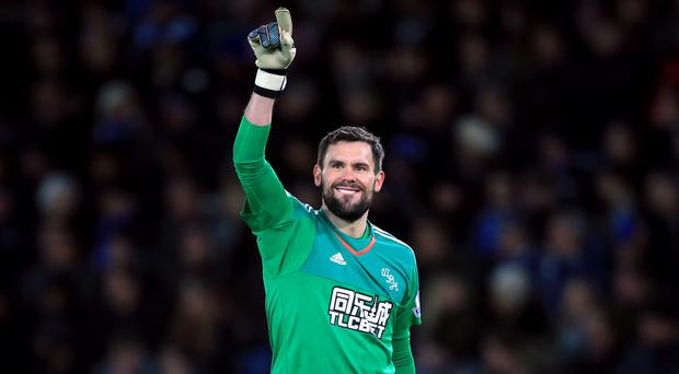 West Brom goalkeeper Ben Foster, pictured, reminded England boss Roy Hodgson of his qualities