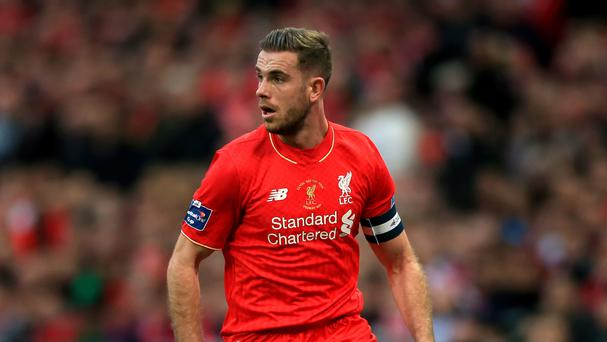 Jordan Henderson's performances have suffered while he has played with an injury but he is determined to carry on