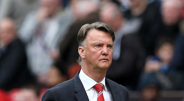 Manchester United manager Louis van Gaal was pleased to win without playing well