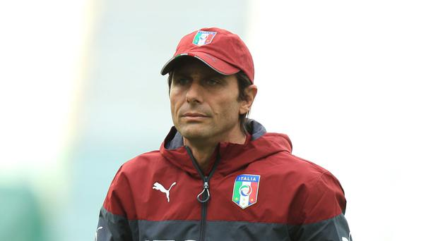 Italy head coach Antonio Conte is taking over at Chelsea
