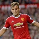 Luke Shaw has been out of action since September