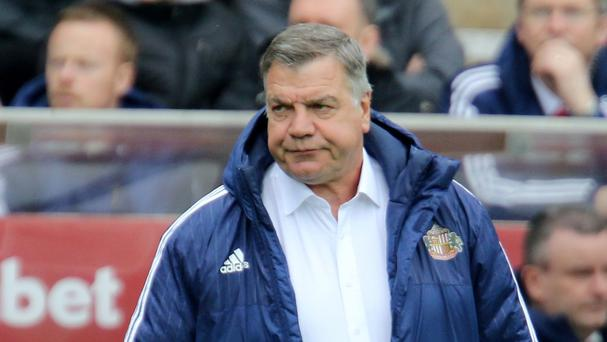 Sam Allardyce cut a frustrated figure as Sunderland were held to a 0-0 draw by West Brom