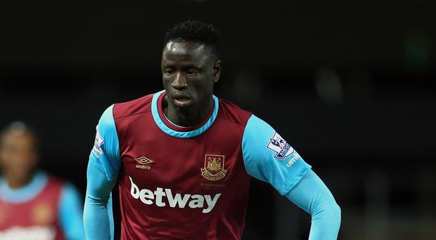 West Ham United's Cheikhou Kouyate has had his red card rescinded
