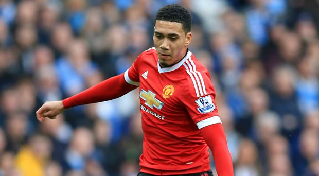 Chris Smalling has impressed for Manchester United this season