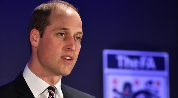 The Duke of Cambridge has said he is
