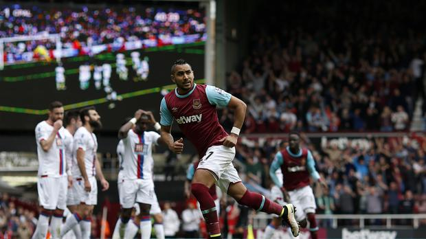 Dimitri Payet scored his latest stunning free-kick against Crystal Palace last weekend