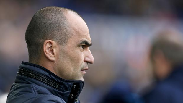 Roberto Martinez is hoping for a change in Everton's Premier League fortunes when they face Watford