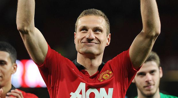 Nemanja Vidic is looking forward to the next chapter in his career