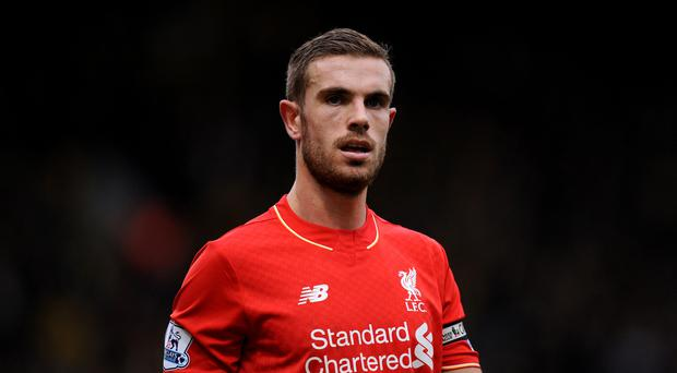 Jordan Henderson suffered a knee ligament injury against Borussia Dortmund on Thursday
