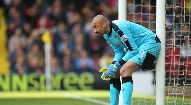 Heurelho Gomes lauded an important point for Watford following their 1-1 draw against Everton