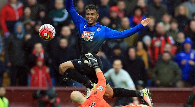 Bournemouth's Josh King scored the goal to virtually condemn Aston Villa to relegation on Saturday.