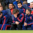 Louis van Gaal endured another tough day on the Manchester United bench