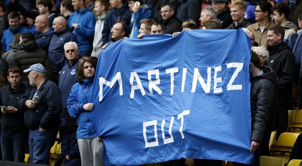 Roberto Martinez said he will give his life to help Everton return to winning ways