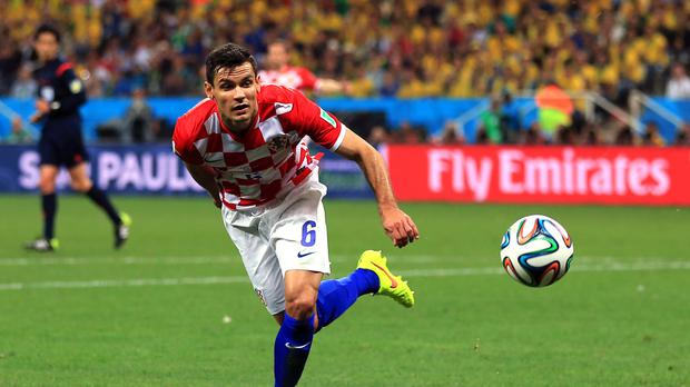 Dejan Lovren was an unused substitute in Croatia's last match.