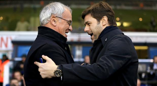 Claudio Ranieri, left, and Mauricio Pochettino have their sides sitting pretty but the Premier League run-in could be chaotic elsewhere
