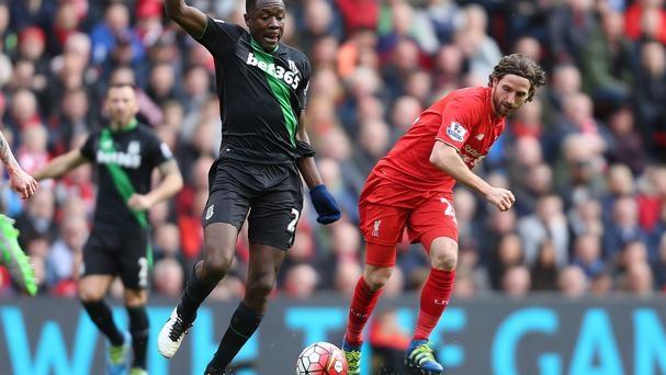 Joe Allen, right, impressed against Stoke on Sunday