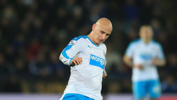 Jonjo Shelvey has indicated his readiness to stay at Newcastle even if they are relegated