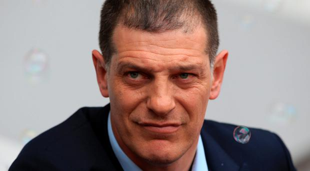 West Ham United boss Slaven Bilic