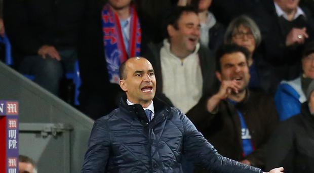 Everton manager Roberto Martinez insisted his team's performance in the 0-0 draw at Crystal Palace showed they are improving
