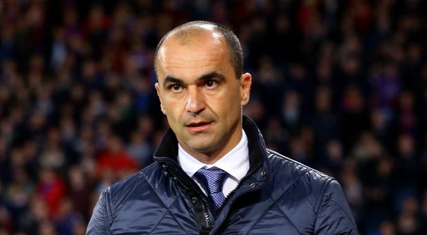 Roberto Martinez's Everton will face Manchester United in the FA Cup semi-finals