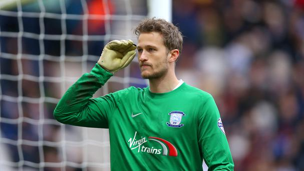 Goalkeeper Anders Lindegaard is in discussions with loan club Preston