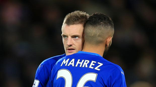 Jamie Vardy and Riyad Mahrez have been recognised in the shortlists for the Facebook Football Awards