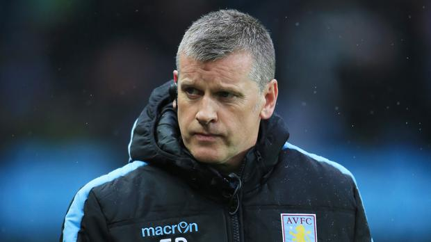 Eric Black, pictured, took caretaker charge of Aston Villa when Remi Garde left the club last month