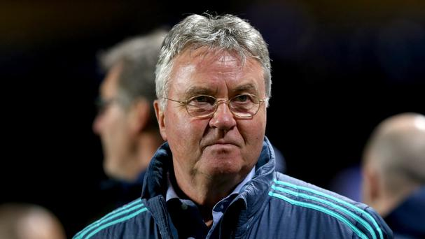 Guus Hiddink feels