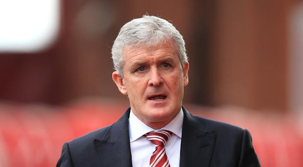 Stoke City manager Mark Hughes hopes his side can capitalise on any Spurs nerves on Monday