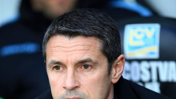 Ex-boss Remi Garde won just three of his 23 matches in charge before leaving in March.