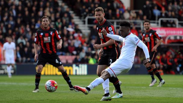 Daniel Sturridge, right, was in top form for Liverpool at Bournemouth