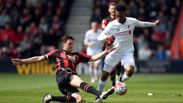 Liverpool's Daniel Sturridge excelled in the 2-1 Premier League win at Bournemouth