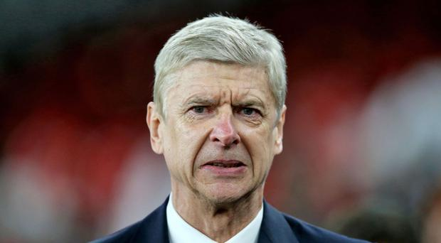Arsene Wenger was left frustrated after Crystal Palace stole a point