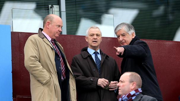 David Bernstein, pictured right, has departed Aston Villa