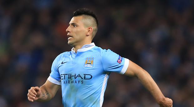 Manchester City's Sergio Aguero is targeting more goals against Newcastle